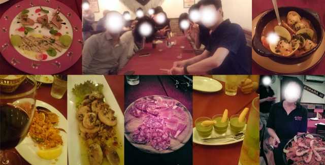 四谷荒木町スペイン料理